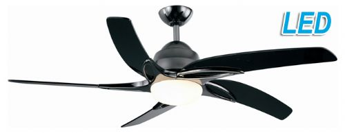 "Fantasia Viper 54"" Pewter Ceiling Fan + Remote Control +  LED Light 115694"